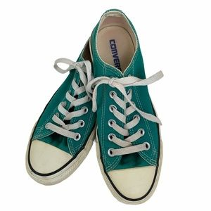 Converse All Star Green Lace Up Sneakers